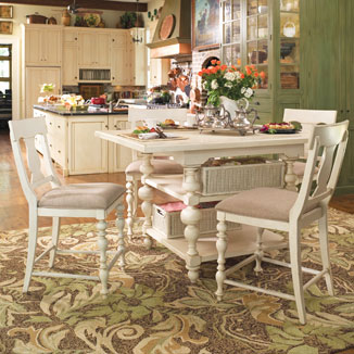 Paula Deen Dining Room Sanders Furniture Company Winder Georgia
