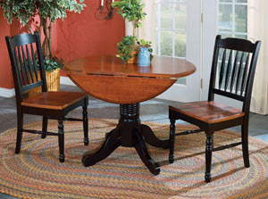 A-America Dropleaf Table and Schoolhouse Chair